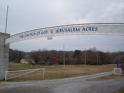 The Church of God at Jerusalem Acres Cemetery