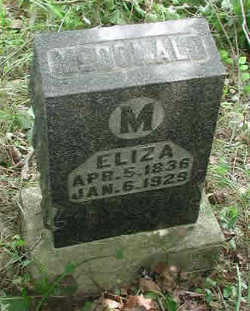 Eliza <I>Robbins</I> McDonald