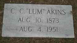 """Claudius Columbus """"Lum"""" Akins"""