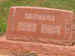 "Margaret Angeline ""Maggie"" <I>McDaniel</I> Foster"