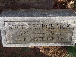 SSGT George McK Gosnell