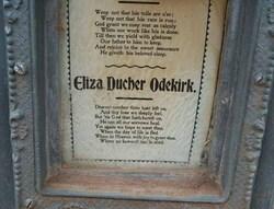 Eliza <I>Deutcher</I> Odekirk