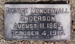 George Mendenhall Anderson
