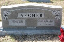 Jessie Miles <I>Bishop</I> Archer