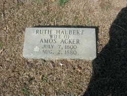 Ruth <I>Halbert</I> Acker