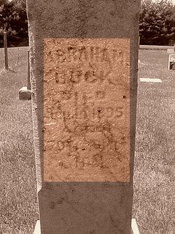 Abraham Buck