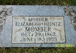 Elizabeth <I>Walter</I> Heintz Momber