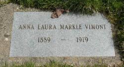 Anna Laura <I>Markle</I> Vimont