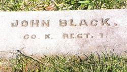 Pvt John S Black