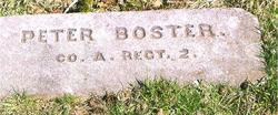 Pvt Peter Boster