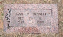 Janie Dae <I>McIntosh</I> Bennett