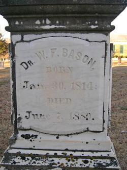 Dr William F. Bason