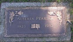 Alberta Pearsol