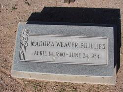 "Medora Adeline ""Addie"" <I>Weaver</I> Phillips"