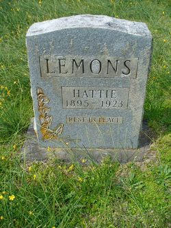 "Harriet Ruth ""Hattie"" <I>Perser</I> Lemons"