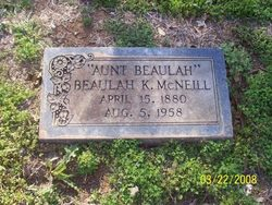 Beulah K. <I>Gaylord</I> McNeill