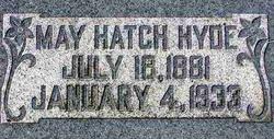 May <I>Hatch</I> Hyde