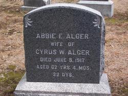 Abbie Emeline <I>Morse</I> Alger
