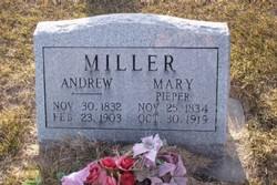 Anna Maria <I>Pieper</I> Miller