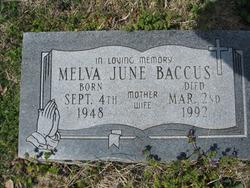 Melva June Baccus
