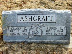 Clara Odelia <I>Riley</I> Ashcraft
