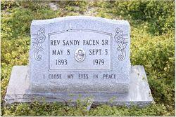 Rev Sandy Facen, Sr
