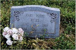 Mary <I>Rosby</I> Myles