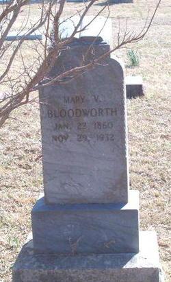 Mary Virginia <I>Loyd</I> Bloodworth