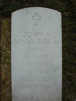John Anastasius Benavides, Jr
