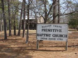 Hadnot Creek Primitive Baptist Church Cemetery