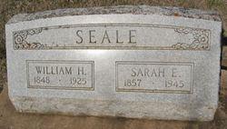 Sarah Elizabeth <I>Hubbard</I> Seale