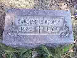 Carolyn E. <I>Fant</I> Colley