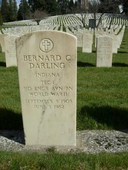 Bernard C Darling