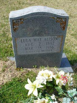 Lula Mae <I>Walker</I> Alison