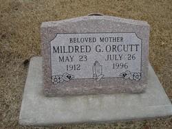 Mildred Geneva <I>Axhelm</I> Orcutt