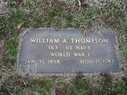"""William A. """"Al"""" Thompson"""