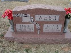 Lura A. <I>Martin</I> Webb