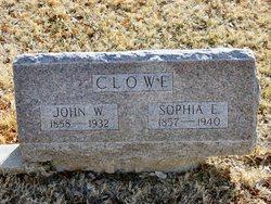 "Sophia Elizabeth ""Lizzie"" <I>Askren</I> Clowe"