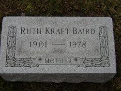 Ruth M. <I>Kraft</I> Baird