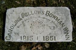 Caroline T. <I>Bowman</I> Fellows Winn