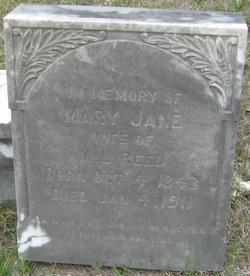 Mary Jane <I>McCarty</I> Reed