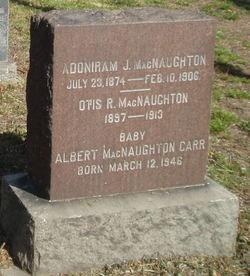 Albert MacNaughton Carr