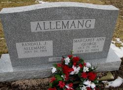 Margaret Ann <I>George</I> Allemang