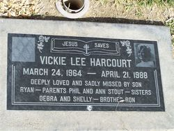 Vicki Lee <I>Stout</I> Harcourt