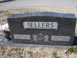 Bertha Ann <I>Moore</I> Sellers