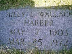 Ailey Elizabeth <I>Wallace</I> Harber