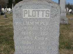 Pvt William M Plotts