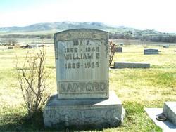 Ida Fannie <I>Barrus</I> Sanford