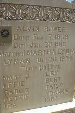 Alvin Roper