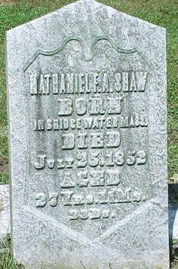 Nathaniel Frederick Austin Shaw